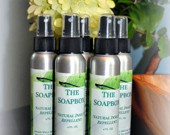 The Soapbox All Natural Insect Repellant