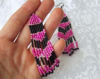 Beaded Earring (Handmade)