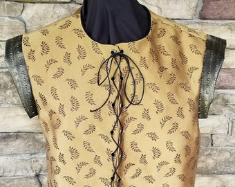 15th to 17th Century Style Renaissance/Colonial Doublet Vest