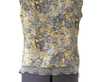 Chiara liberty silk top