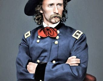 General George Armstrong Custer was a United States Army officer and cavalry commander