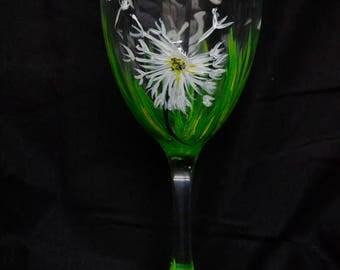 Dandelion Wine Glass