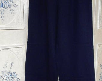 Vintage Womens' Navy Style Pants
