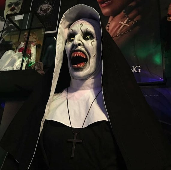 Valak Demonic Nun Conjurimg Life Movie Prop