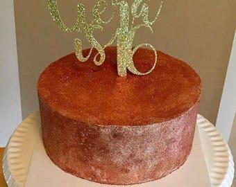 Birthday Cake topper, personalized birthday cake topper, personalized cake topper, Birthday decorations, personalized birthday cake topper