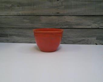 Vintage Coral Bowl | Fiestaware Serving Bowl | Colorful Serving Bowl