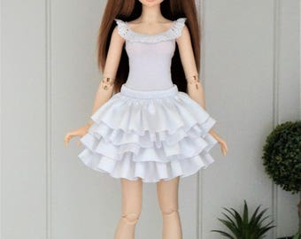 Skirt  for slim  BJD MSD 1/4 Minifee