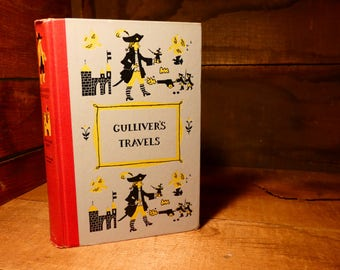 Gulliver's Travels by Jonathan Swift Jr. Deluxe Edition- 1954