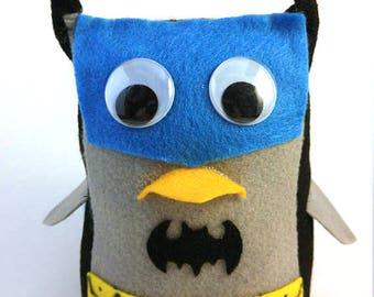 Batman Owl Plush Stuffie Doll