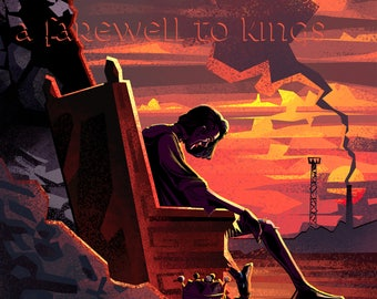 RUSH A Farewell to Kings 40th anniversary Art print (Limited to 50)