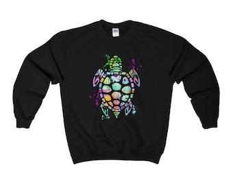 Turtle Sweatshirt, Turtle Sweater, Turtle Gifts, Sea Turtle, Turtle Lover, I Lover Turtles, Sea Turtle Sweatshirt, Men, Women, Turtle Art
