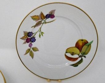 """Royal Worcester Evesham Tea / Side Plate 6 1/2"""""""
