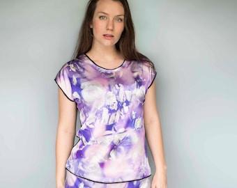 Silk Pajama Set for Women - Silk Pyjamas - Satin Pajama - Women's PJ Set - Silk PJ's - Ladies Pyjamas - Silk Pajamas - Satin Pajamas