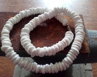 Vintage 70's Puka Shell Necklace