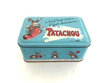 "Shoebox child vintage metal ""Patachou"""
