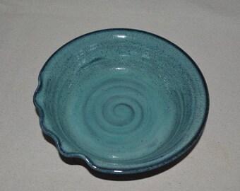 pottery bowl, baking dish, pottery dish, blue bowl, blue pottery, decorative bowl, vegetable bowl, pasta bowl, fruit bowl