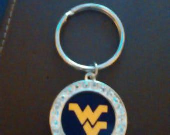 WV Round Keychain