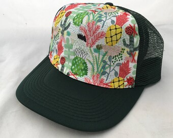 Tigersheep Art Collab - Large Adult Trucker Hat