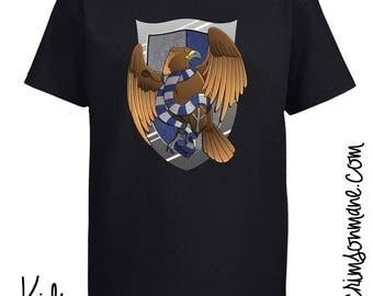 Ravenclaw Harry Potter Hogwarts House Crest T-shirt