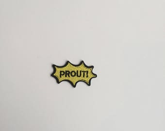 PROUT Iron on patch