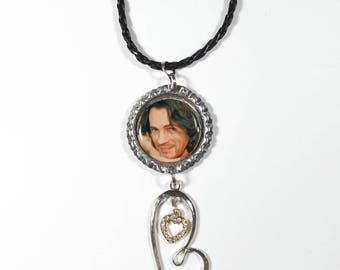 Rick Springfield Necklace w/ Heart Charms FREE SHIPPING (Cord Necklace Included)