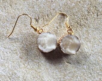 White Earrings, Dangle Earrings, Jewelry For Her, Gift Ideas, Southwest Jewelry