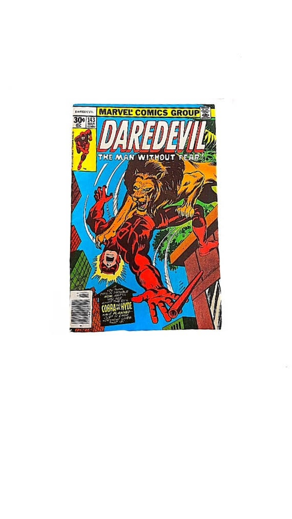 Daredevil 143 man without fear comic con comics easter like this item negle Choice Image