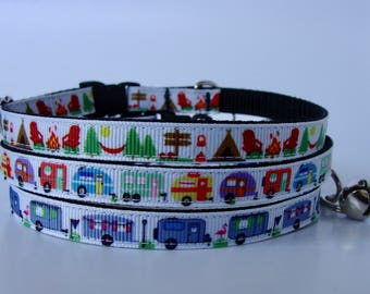 Adventure Kitty and xs Dog Camping Collar, Leash & Harness - Ready to Ship!