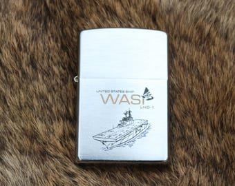 USS Wasp LHD - 1 Zippo unfired