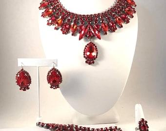 4 Piece Handmade Regal Jewelry Set