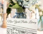 Custom Listing NYC Table Cards for Lauren