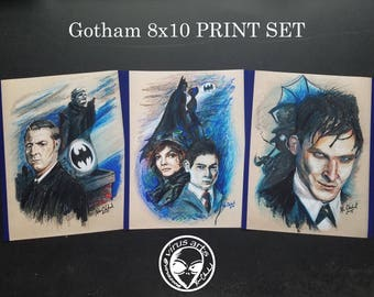 Gotham 8x10 PRINTS