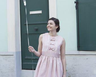 My lovely pink dress
