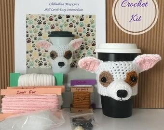 Crochet Gifts - Amigurumi Kit - Crocket Starter Kit - Crochet Kit - Crochet Pattern Dog - Crochet Dog Pattern - Dog Crochet Pattern