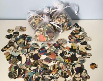 Hand Punched Vintage/Modern Marvel & DC Comic Book Confetti - Party Confetti -  Wedding Confetti - Birthday Confetti - Christening Confetti