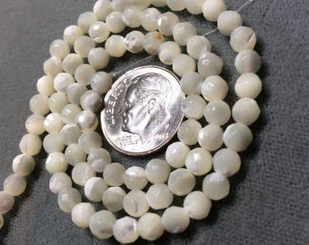 Mother of Pearl 10mm Round Beads