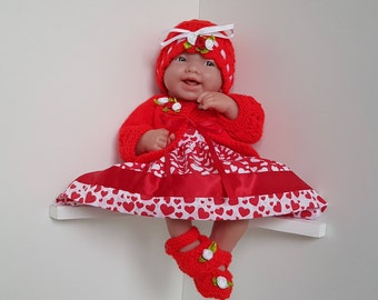Dolls Clothes Set for 14 inch dolls - BERENGUER / CUPCAKE La Newborn / Reborn or similar