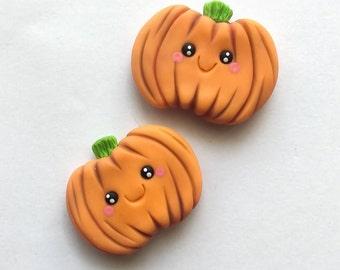 Pumpkin magnets, magnets, Halloween magnets, pumpkins, halloween