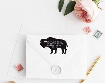 Return Address Stamp, Address Stamp, Custom Address Stamp, Wedding Return Address Stamp, Personalized Return Address Stamp, Rubber Stamp 116