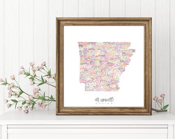 Arkansas Print {Digital Download}
