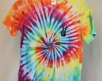 Size 12 - Ready To Ship - Unisex - Children - Kids - Tie Dyed T-shirt - Tee's - 100% Cotton - FREE SHIPPING within Aus