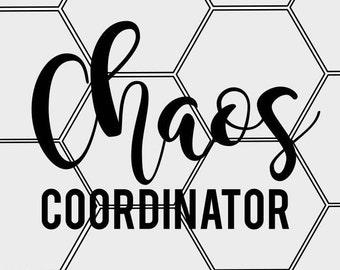 Chaos Coordinator SVG & PNG
