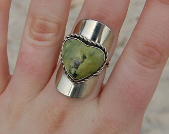 Alpaca Silver Gemstone Ring