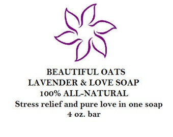 Lavender & Love Body Soap