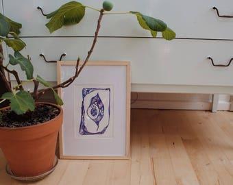 Leaf Of Light - Ink Painting