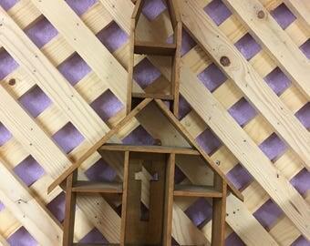 Shadow box, Church, Wall decor, Collectibles, Handmade
