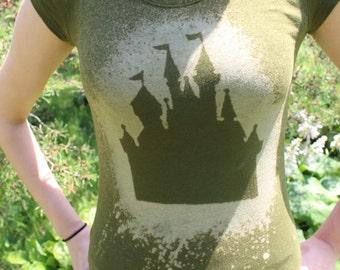 Disney Castle Silhouette Tee