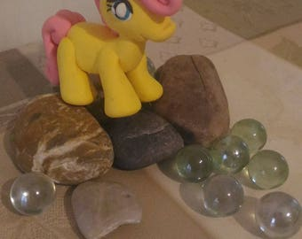 Pony in Fimo fluttershy