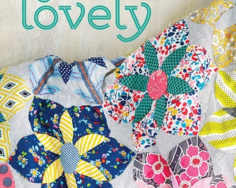 Quilt Lovely book of patterns by Jen Kingwell