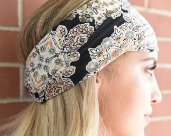 "Versatile headband/head-wrap ""Dollhouse"""